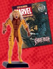 Classic Marvel Figurine Collection #084 Sabretooth Eaglemoss Publications